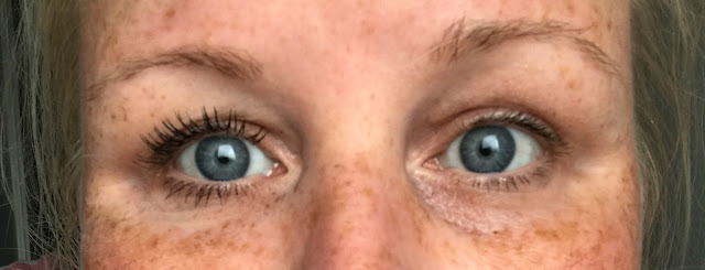The L'Oreal Paradise Mascara - before and after