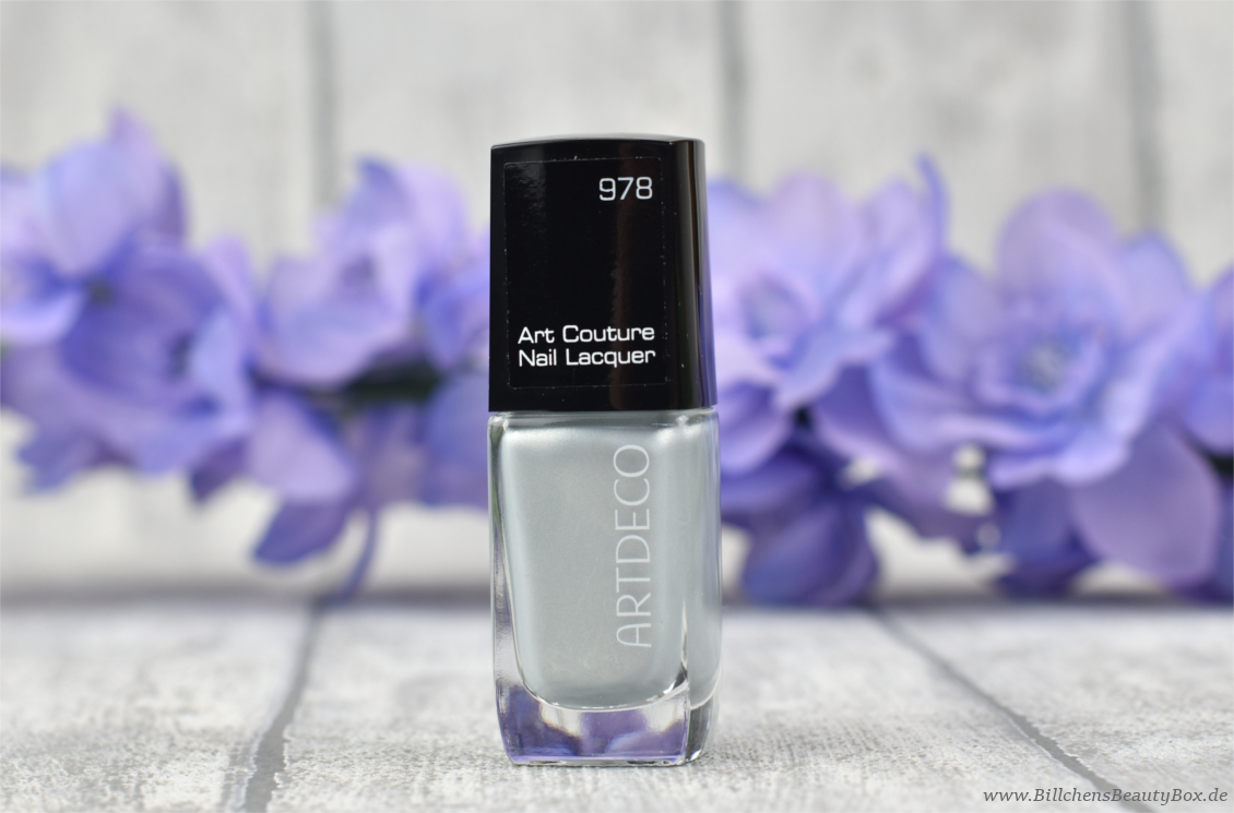 artdeco -  Art Couture Nail Lacquer Nagellack - Silver Willow - Review