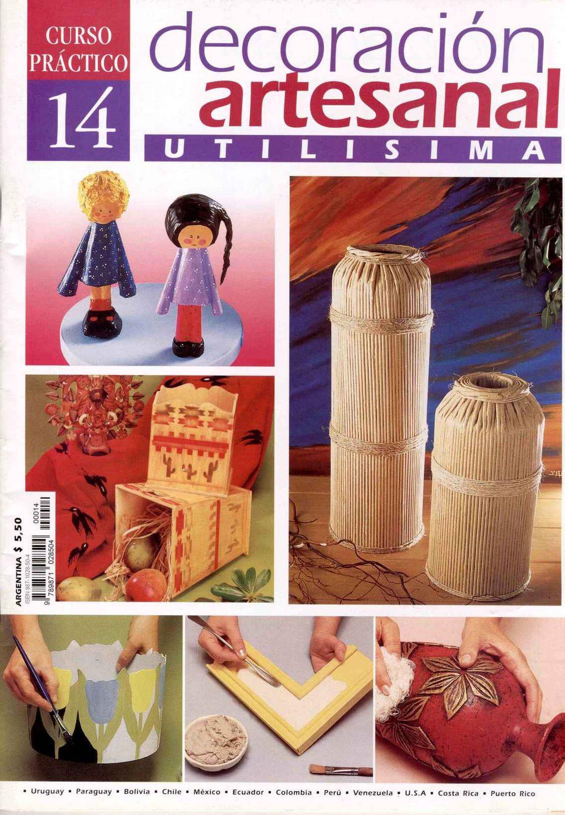 Util sima nro 14 decoraci n artesanal freelibros for Decoracion hogar artesanal