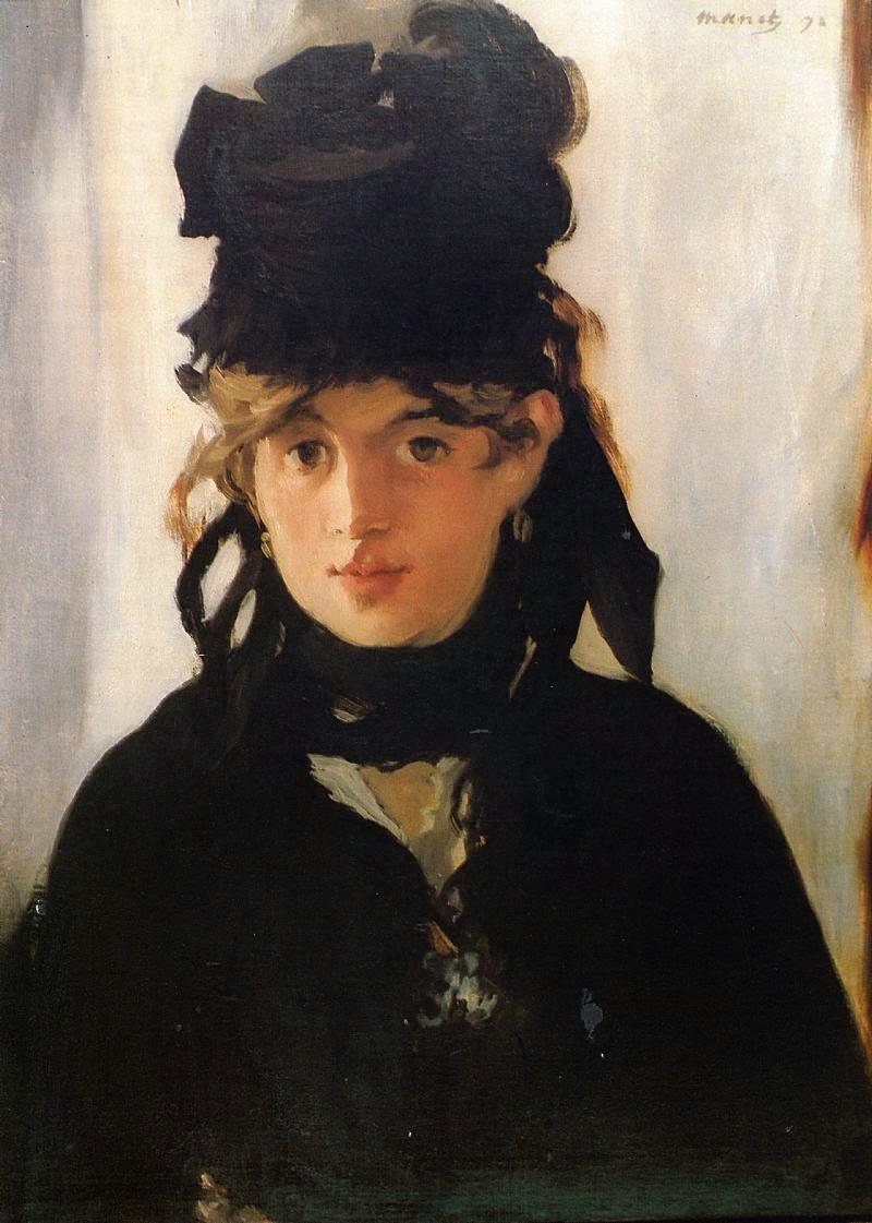 Berthe Morisot - Pinturas impressionistas pintadas por Édouard Manet