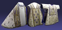 Art Nouveau Vestments from Stift Klosterneuberg