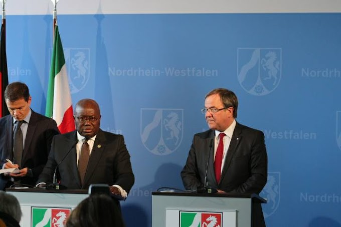 Ghana's Market Holds Great Potential for Germany - North Rhine Westphalia Minister President