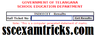 TS DIETCET Result 2015