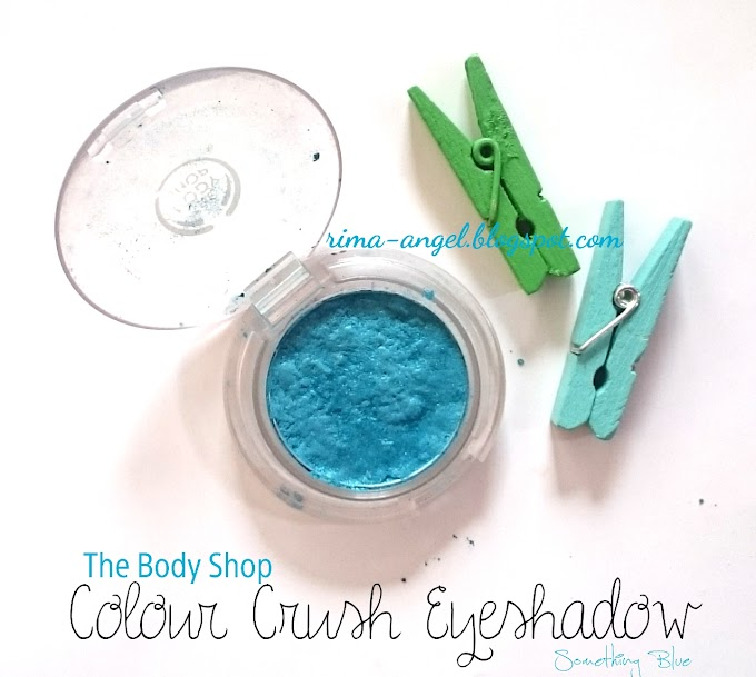 Review The Body Shop Colour Crush Eyeshadow #510 Something Blue