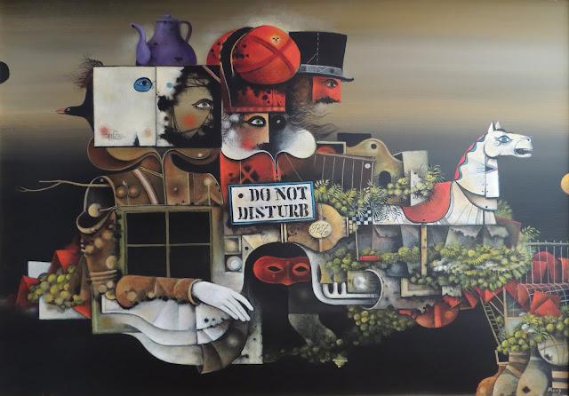 Eduard Alcoy cuadro surrealista tribunal