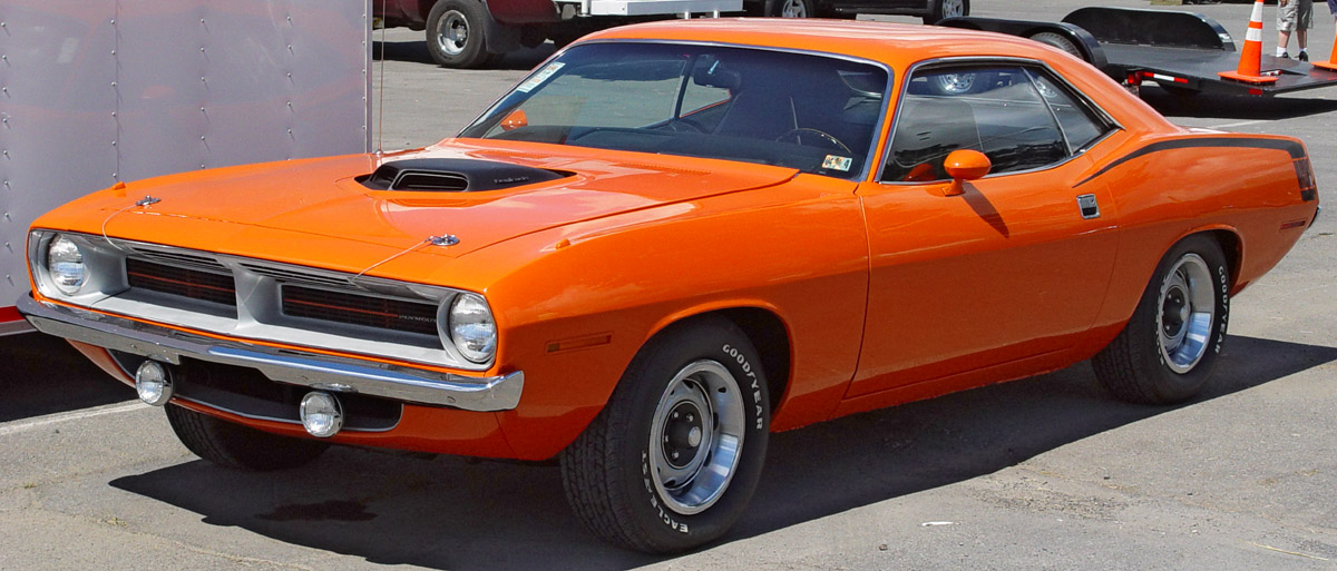 All About Muscle Car 1970 Plymouth Hemi Cuda The Most