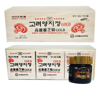 Tác dụng chính của cao linh chi đỏ Hàn Quốc
