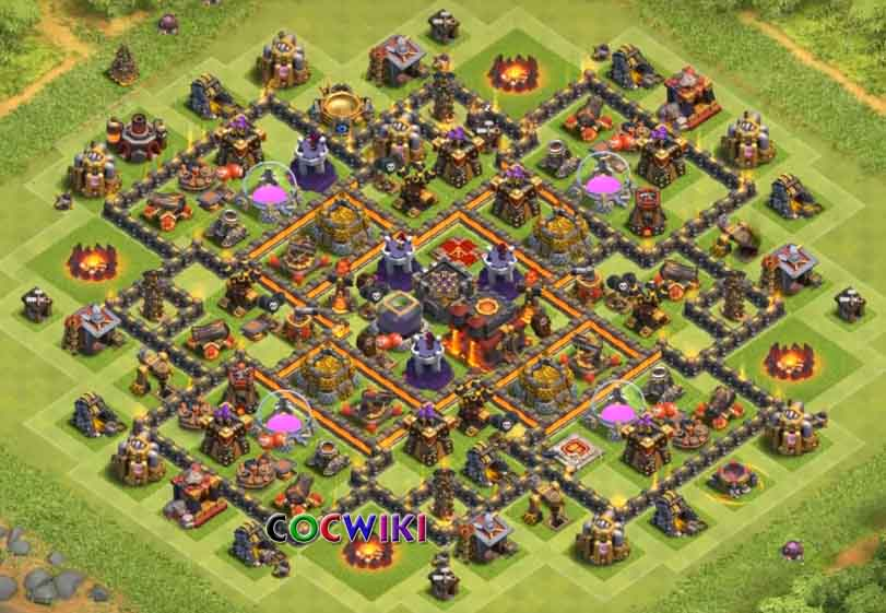 good level 10 farming base design 2019
