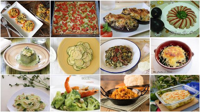 Recetas de verduras fáciles y originales. Julia y sus recetas