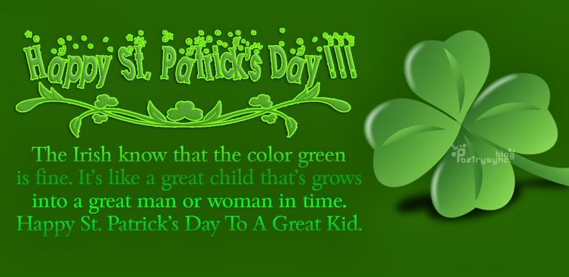 2017 St Patricks Day Quotes Wishes Blessings For Friends Girlfriend Boyfriend