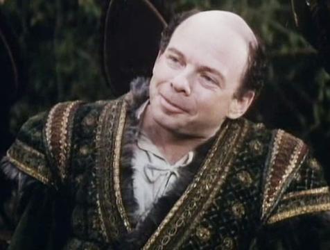 Vizzini (Wallace Shawn) en La princesa prometida - Cine de Escritor