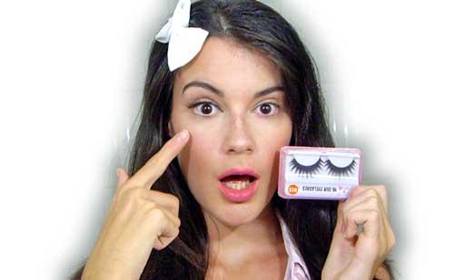pestañas postizas monika sanchez guapa al instante maquillaje