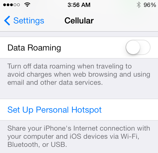 Fixed Iphone Personal Hotspot missing Error | Tricks