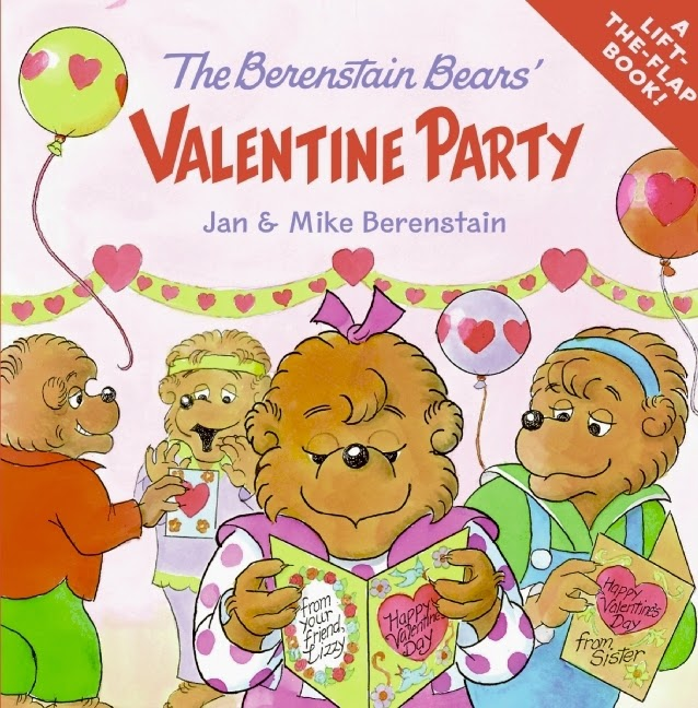 The Berenstain Bears Valentine Party, part of children's book review list about Valentine's Day