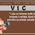 """VIC: """"Lala sa Sosom sedi za stolom i ručaju. Kad je završio sa jelom ustade i..."""""""