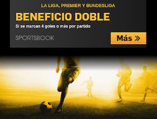 betfair promocion beneficio doble ligas 11-12 marzo