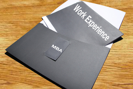 Work experience or MBA degree:  Is one more valuable than the other? ~ : MBA e-Notes & Projects