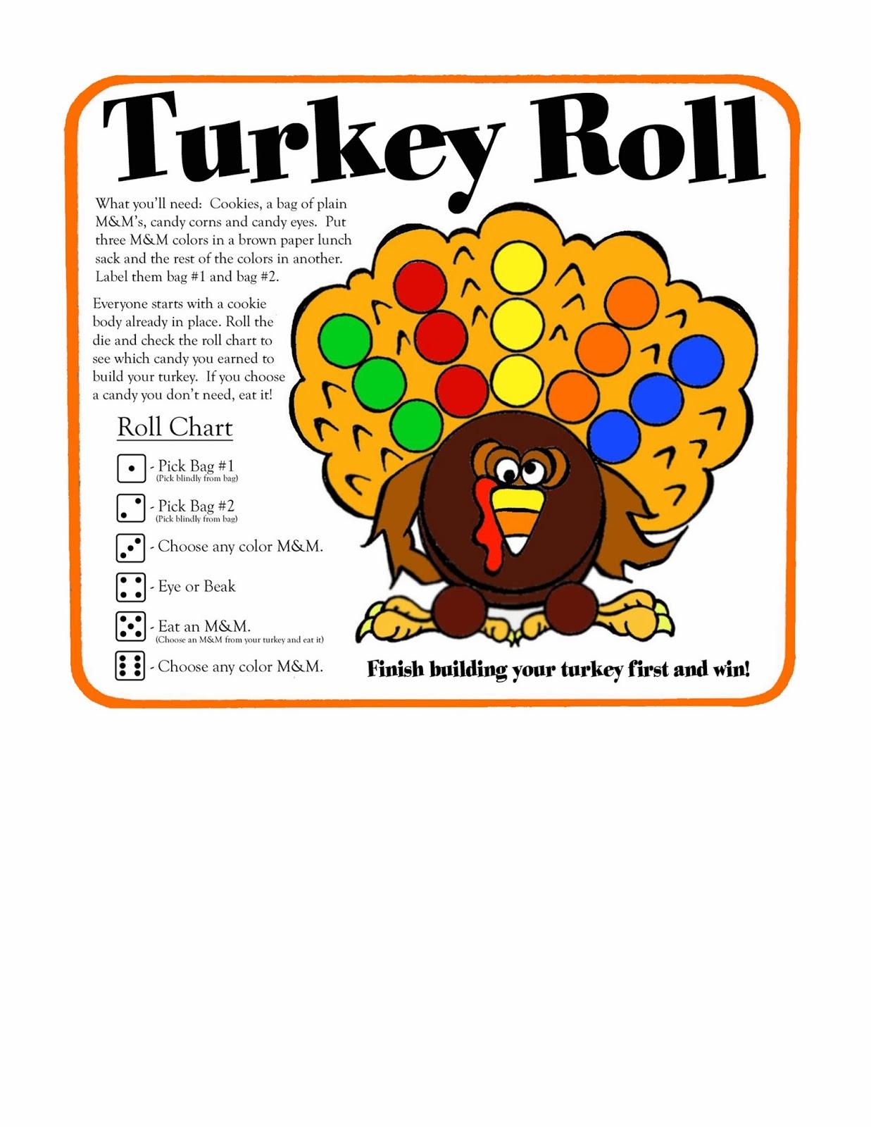 Serendipity Hollow Turkey Roll Game
