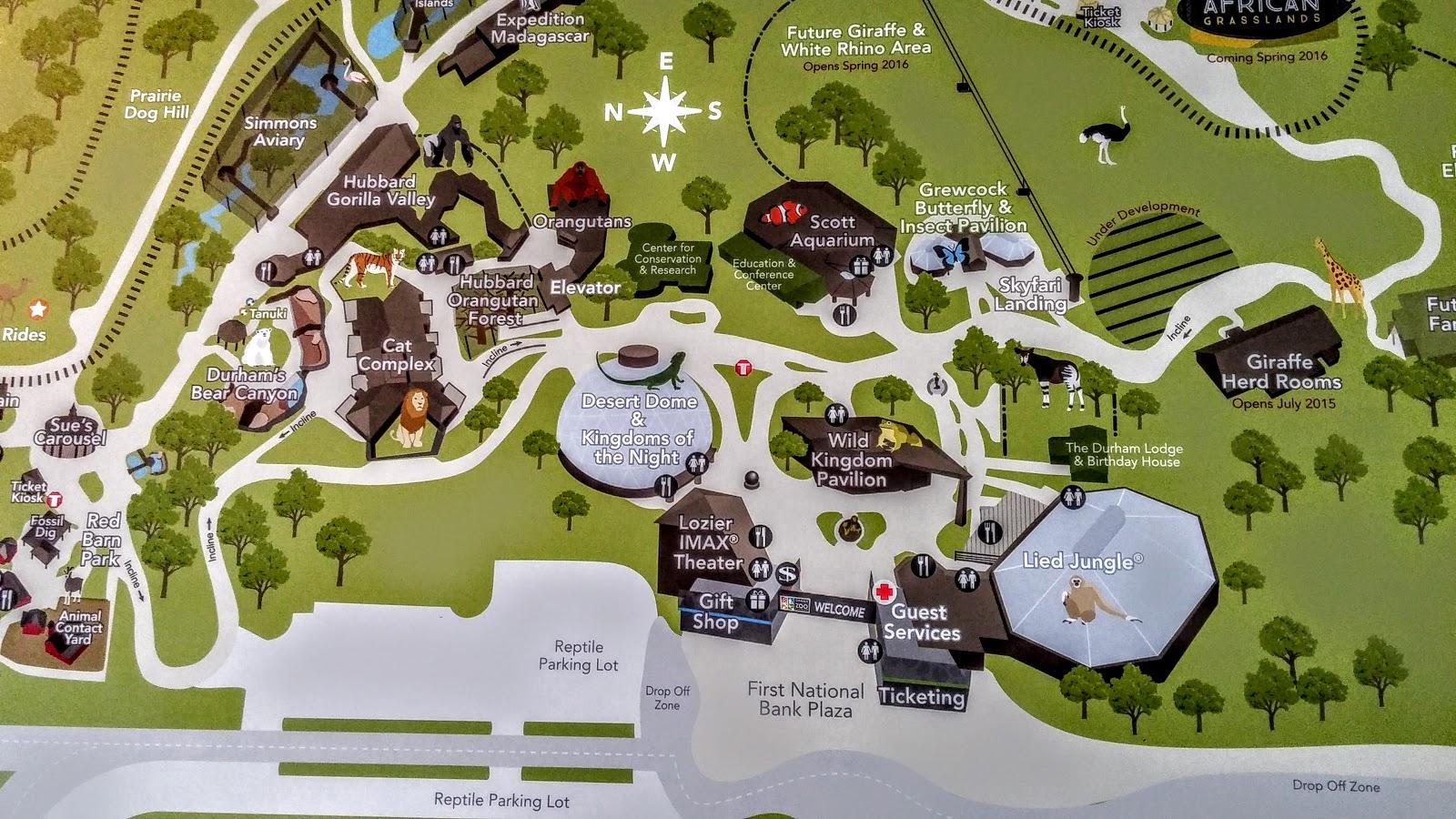 omaha henry doorly zoo map | My blog