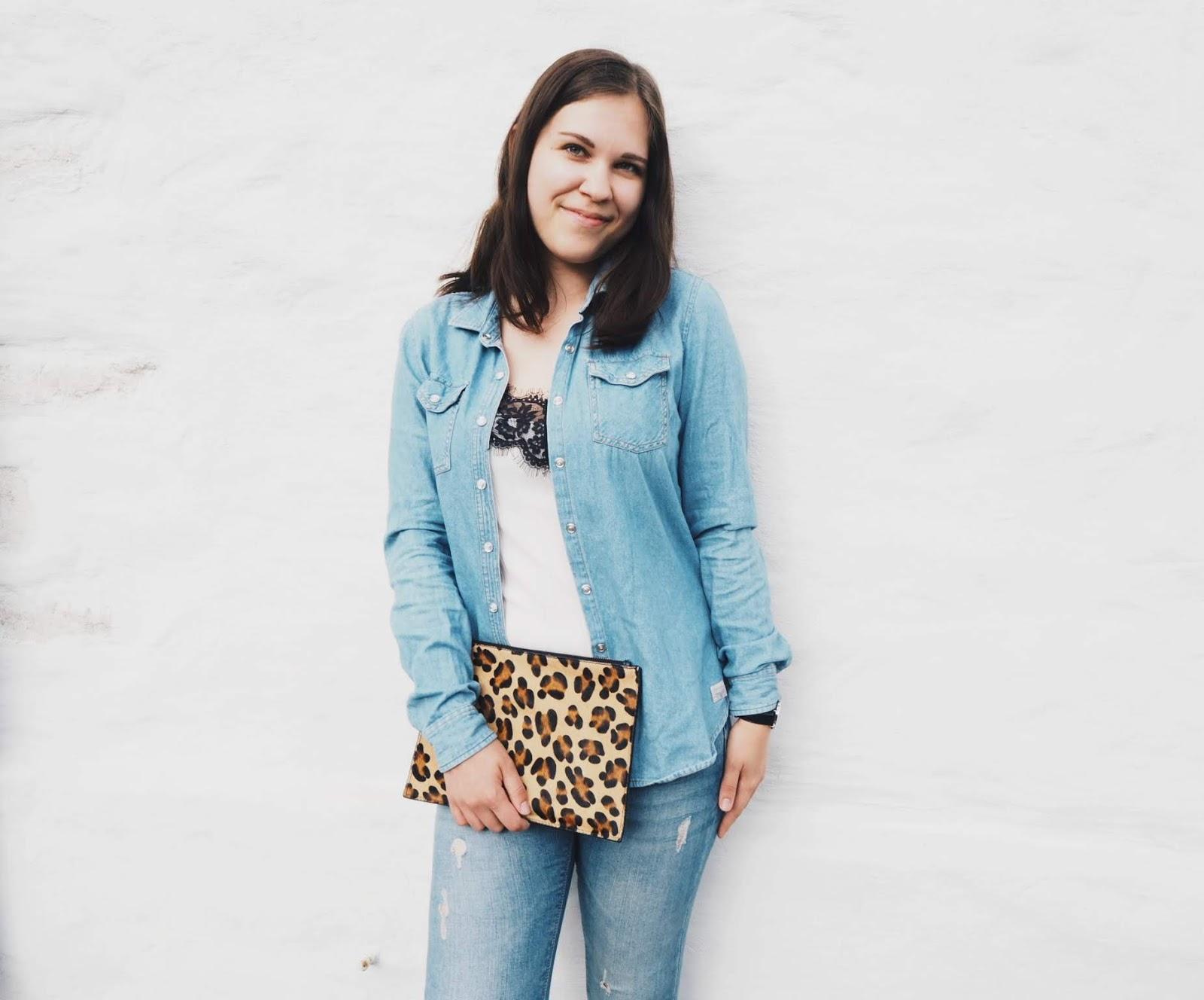 lifestyle blogger tallinn estonia tallinnavinkkejä lifestyleblogi double denim outfit