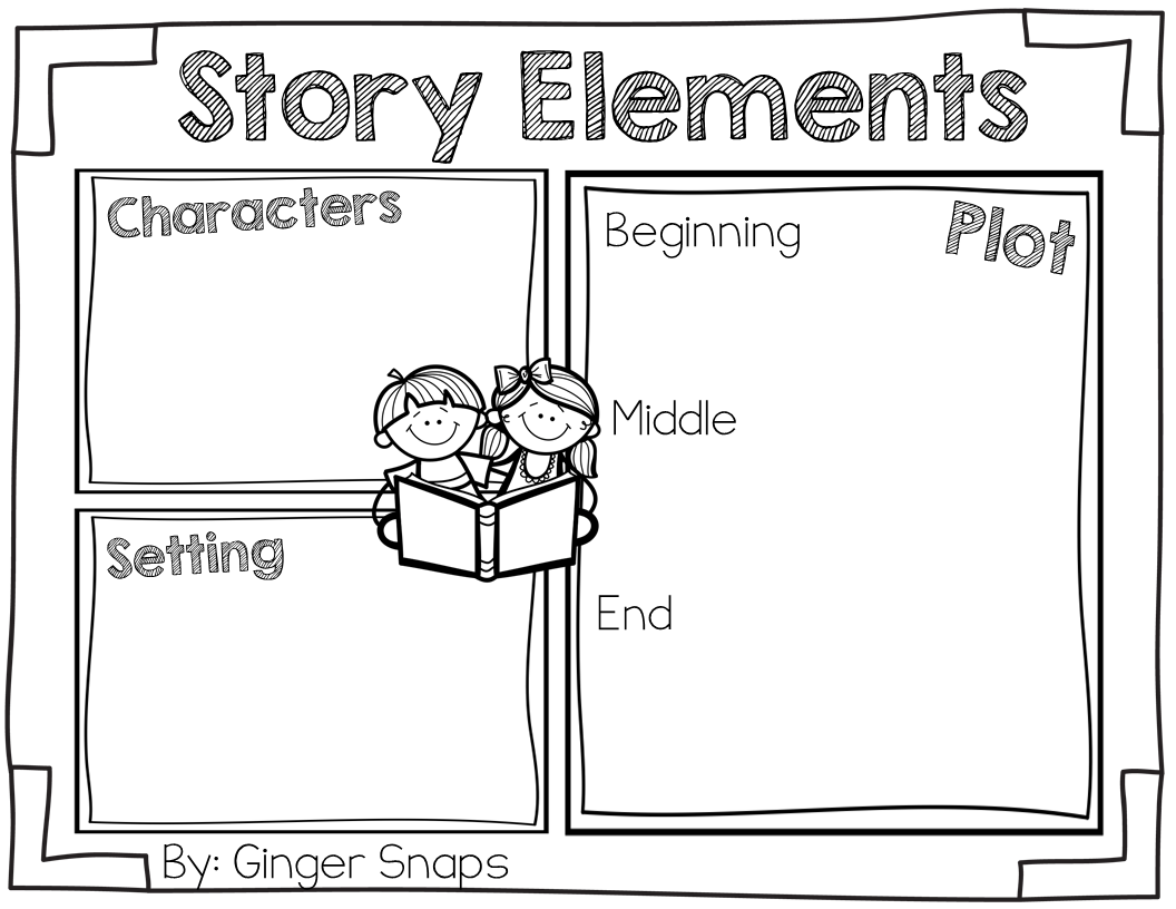 Ginger Snaps: Story Elements Freebie
