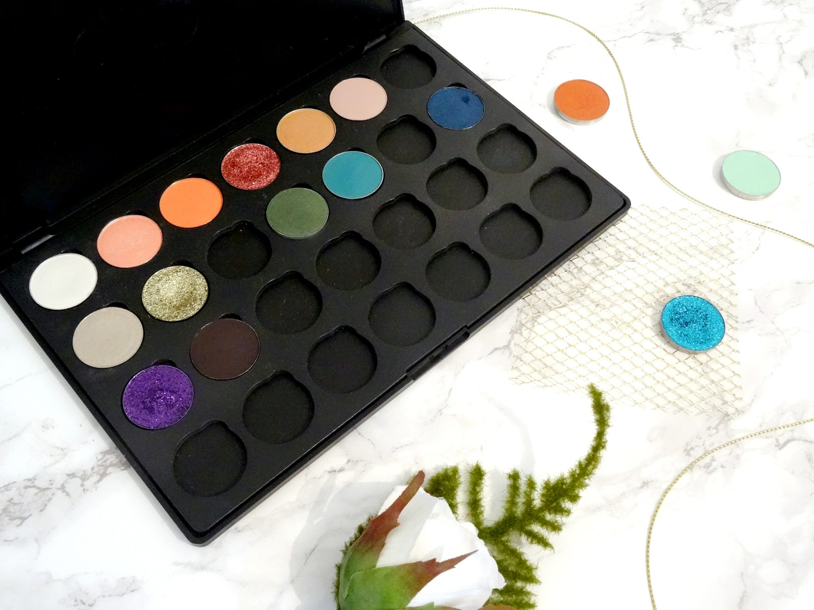 Customised Morphe Palette