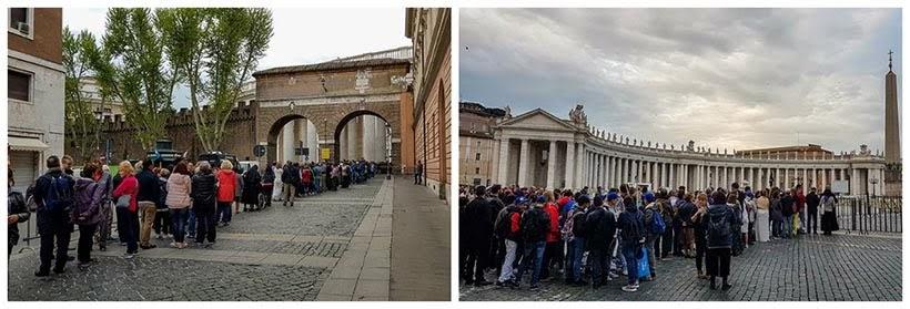Como ver o papa no Vaticano - fila para ver o Papa Francisco
