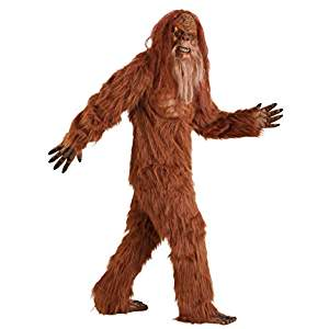 Sasquatch Adults Costume Size STD