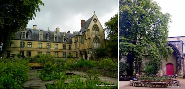 Paris: Jardim de Cluny