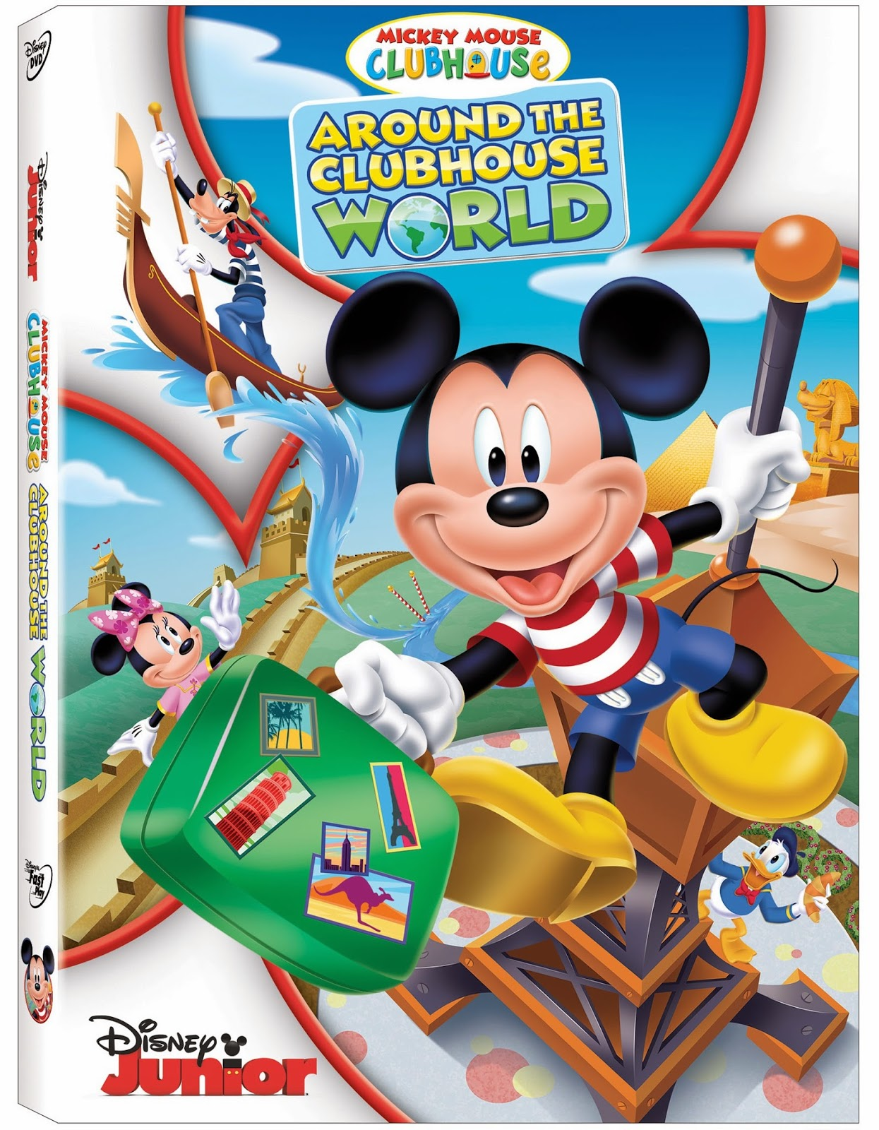 Mickey Mouse Clubhouse: Around the Clubhouse World on DVD ...