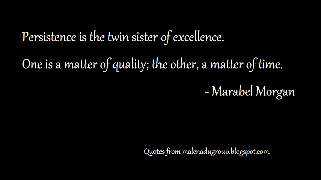 thoughts on excellence