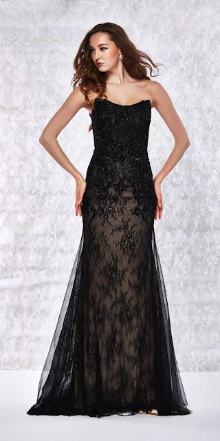 vestidos con corset largos de fiesta