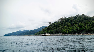 On the way to Koh Hin Ngam on longtail boat