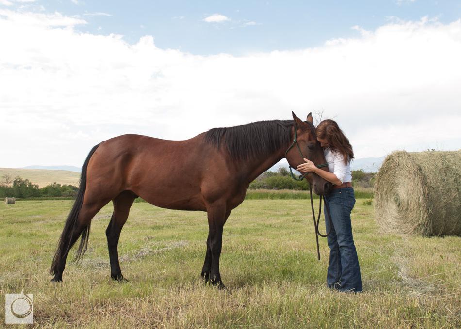 Cowgirl Yoga Horse Human