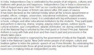 Independence Day Speech in English for School Students