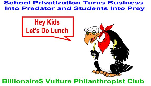 Image result for big education ape  vulture capitalists