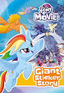My Little Pony MLP The Movie: Giant Sticker Storybook Books