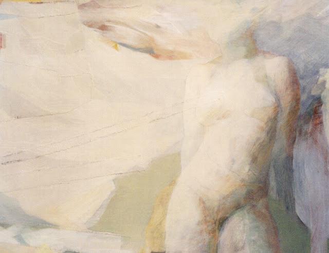 Nude/Flight -  Painting - Rosemary Marchetta