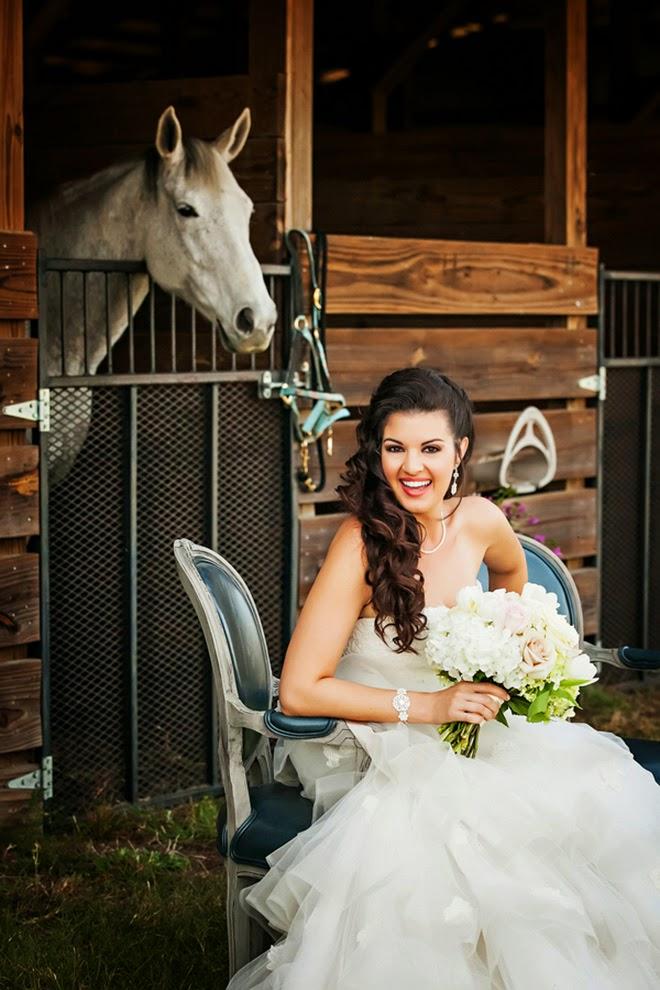 Kentucky Derby Themed Wedding Photo Shoot - Belle The Magazine