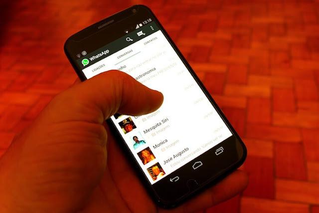 cara menyembunyikan gambar dan video WhatsApp di Android