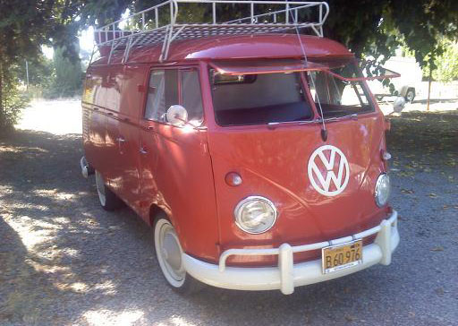 1960 VW Double Door Panel