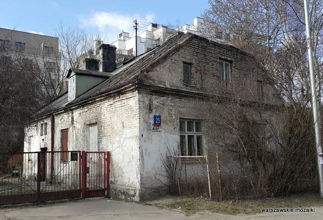Warszawa Warsaw Wola Odolany ostańce dom