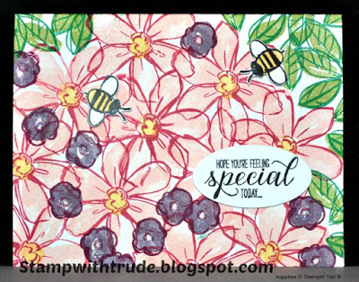 Stamp with Trude, Stampin' Up!, Garden in Bloom, Tuesday Tutorial