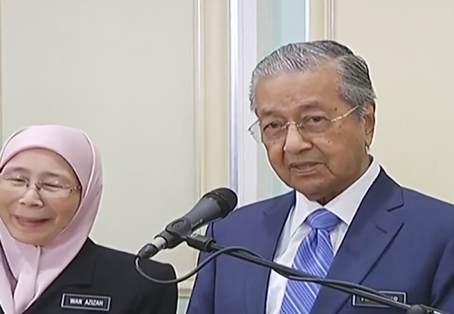 PM Umum Gaji Jemaah Menteri Dipotong 10 Peratus, Harga Minyak Kekal Dan GST Tetap Pada Kadar 0% Pada 1 Jun 2018
