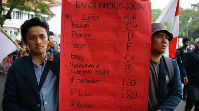 Di Bidang Hukum, HAM dan Terorisme, Raport Jokowi Merah