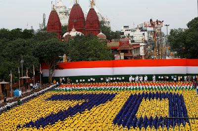 India is Celebrating 70th Independence Day Along With The Prime Minister Modi