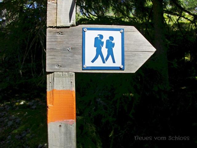 Wanderweg in Schweden- neuesvomschloss