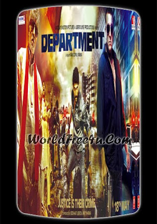 Poster Of Hindi Movie Department 2012 Full HD Movie Free Download 720P Watch Online