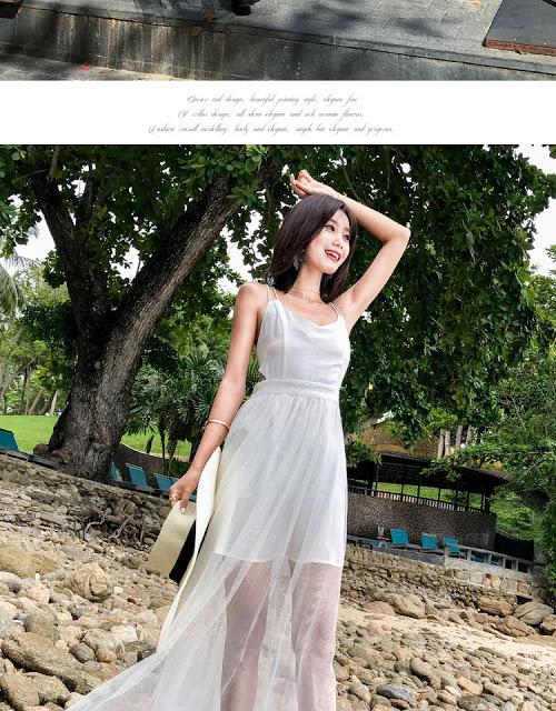 Shop ban vay maxi di bien tai Ngo Thi Nham