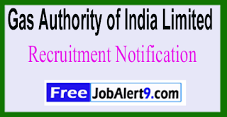 GAIL Gas Authority of India Limited Recruitment Notification 2017 Last Date 17-06-2017
